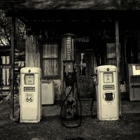Sharon Gas Station Route 66