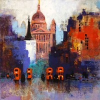 St Pauls Sunset – Colin Ruffell