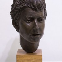 Young Dylan by Pam Taylor (1929 – 2014) ARBS