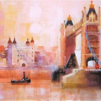 Evening Shadows Tower Bridge – Colin Ruffell