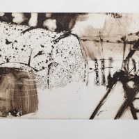 The Polytunnel - solar etching by Kate Osborne - £ 420 framed