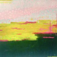 Chalk Meadow - high summer 122x152ccm oil on canvas