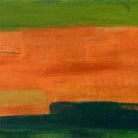 Field, 30x60cm oil & acrylic on canvas